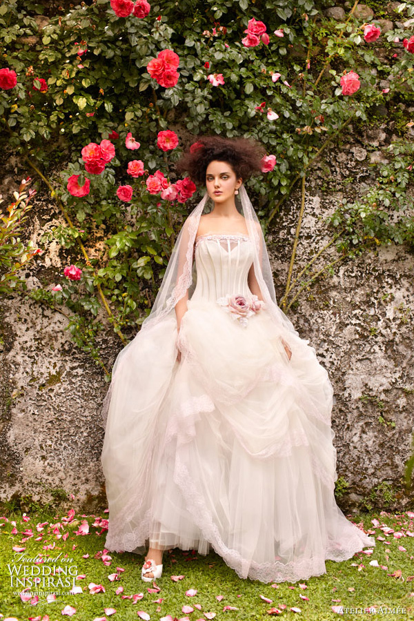 atelier aimee wedding dress ball gown