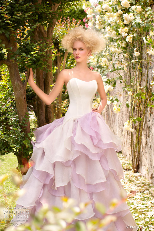 atelier aimee wedding dress purple
