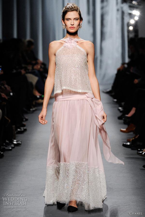 Chanel Spring Summer 2011 Couture Wedding Inspirasi