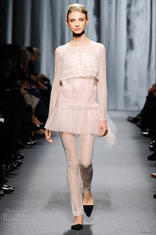Chanel Spring Summer 2011 Couture Wedding Inspirasi