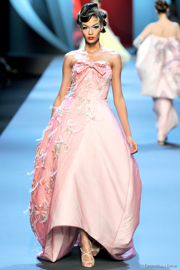 Christian Dior Spring/Summer 2011 Couture runway show in Paris. Designed by John Galliano