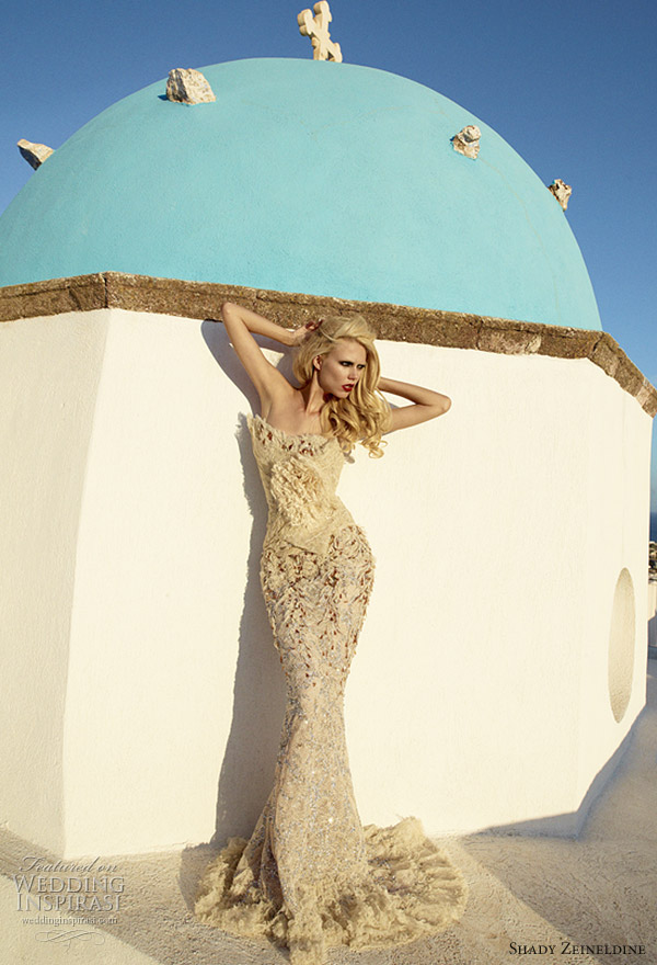 Couture wedding dress 2011 by Shady Zeineldine