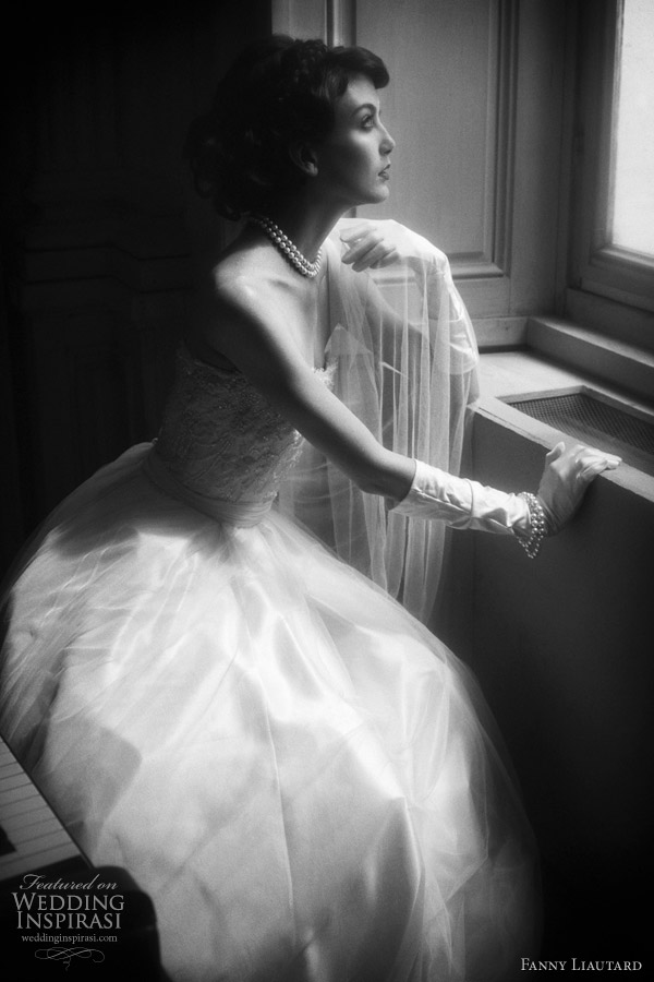 Fanny Liautard 2011 bridal collection - strapless wedding gown
