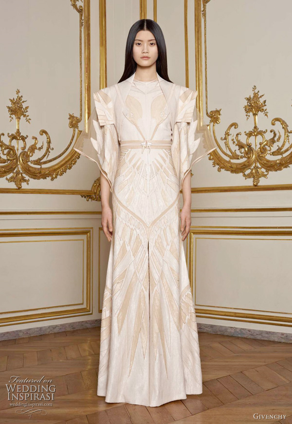 Givenchy Spring 2011 Couture collection designed by Riccardo Tisci