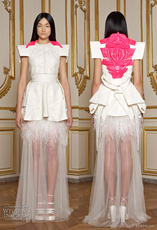 Givenchy Haute Couture Spring 2011 collection by  Riccardo Tisci