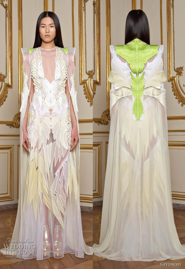 Givenchy Couture Spring 2011 collection by Riccardo Tisci