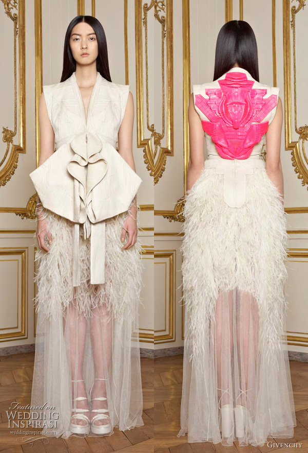 Givenchy Spring 2011 couture collection by Riccardo Tisci shown in paris