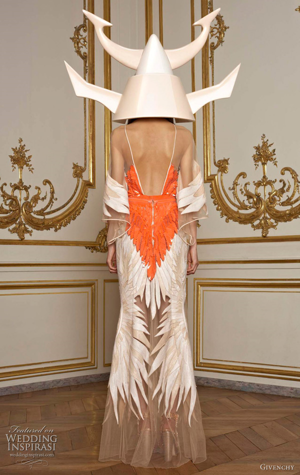 Givenchy Spring 2011 Couture collection -  Asian inspired collection by Riccardo Tisci