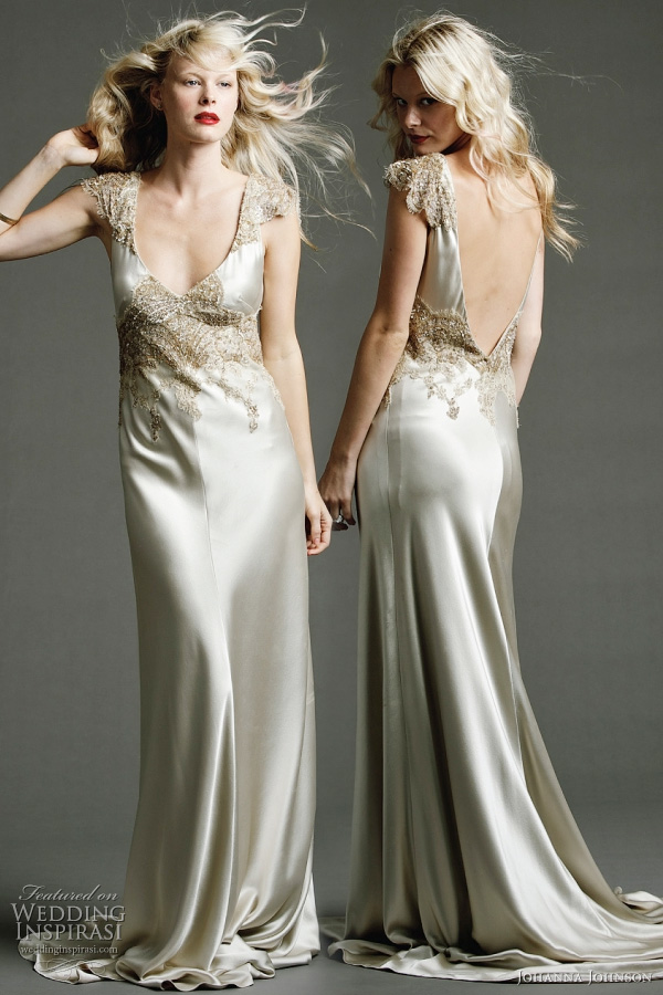 Johanna Johnson 2011 bridal collection Templar Satine wedding dress