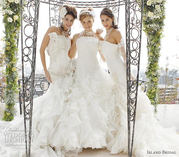 Hawaii Island Wedding Dresses