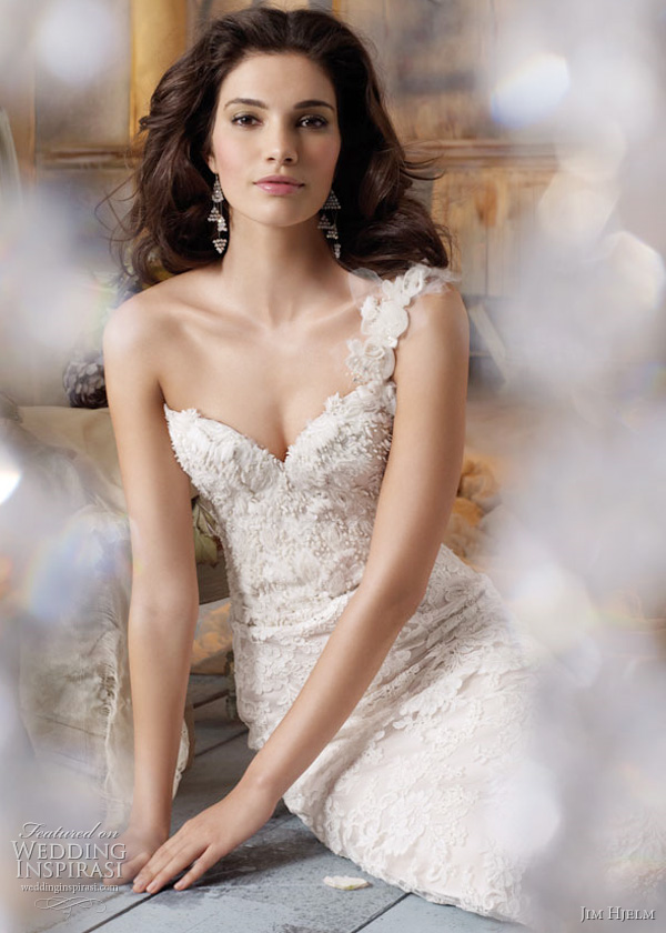 Spring 2011 Jim Hjelm Wedding Gowns Bridal Dresses Style Jh8109