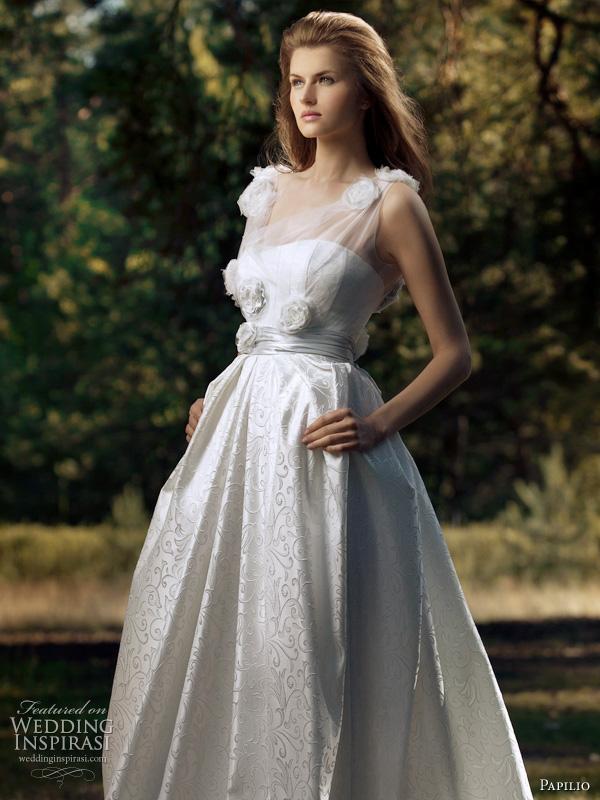 Paplio Russia 2011 wedding dress - Polaris bridal gown, romantic Forest Dreams collection