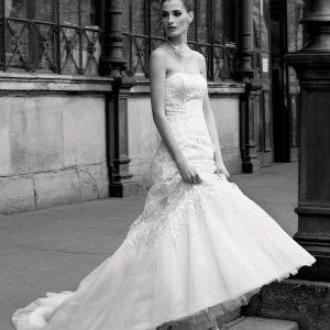 Pronuptia Studio 2011 wedding gown - trumpet wedding dress