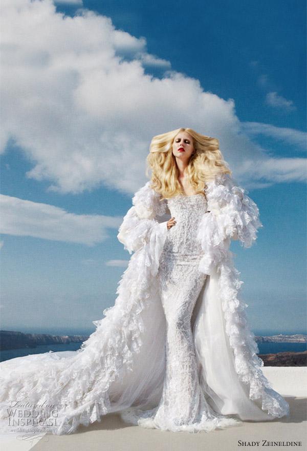 2011 couture wedding dress by Shady Zeineldine