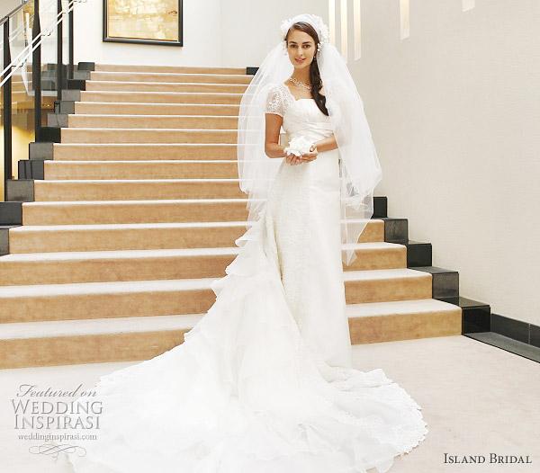 Island Bridal White Wedding Dresses Collection  Wedding Inspirasi