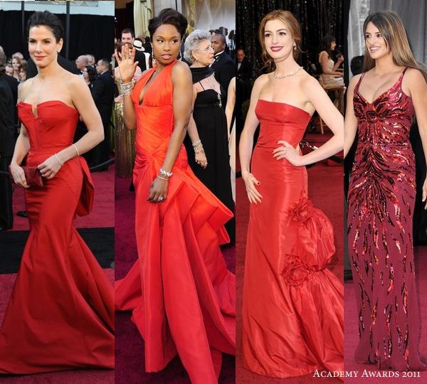 2011 Oscars Red Carpet Dresses - Wedding Inspirasi