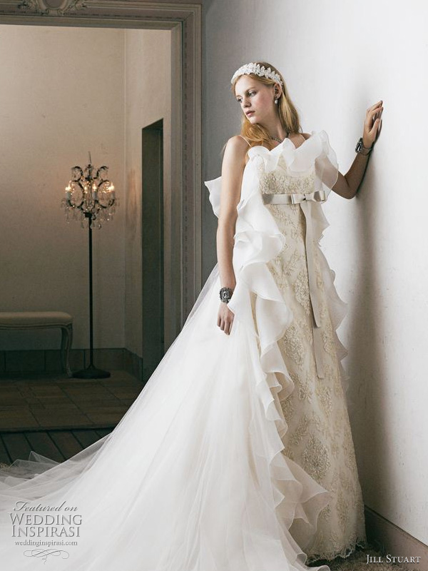 2011 wedding dresses by Jill Stuart