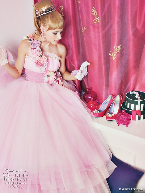 Barbie bridal gown 2011