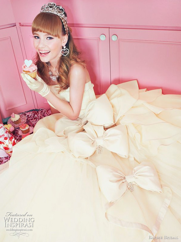 Barbie Bridal wedding dress 2011 collection