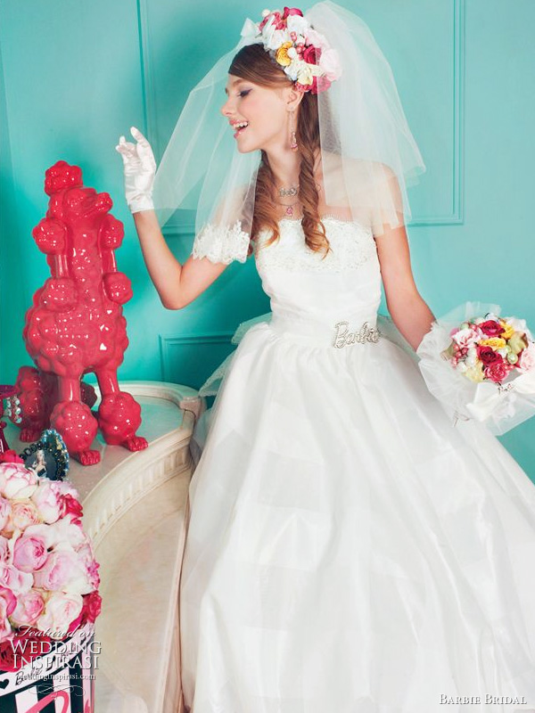 Barbie Bridal wedding dress