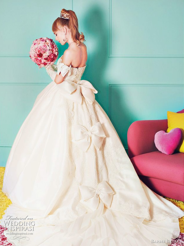 Barbie wedding dress 2011 collection