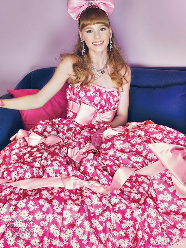 Barbie 2011 wedding gown