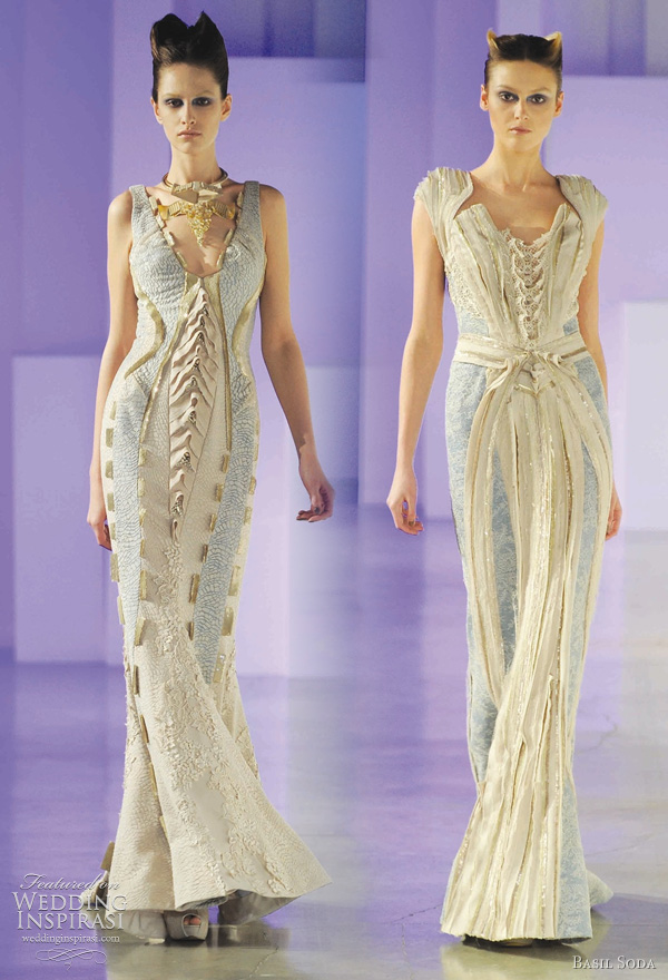 Basil Soda spring 2011 haute coutre collection