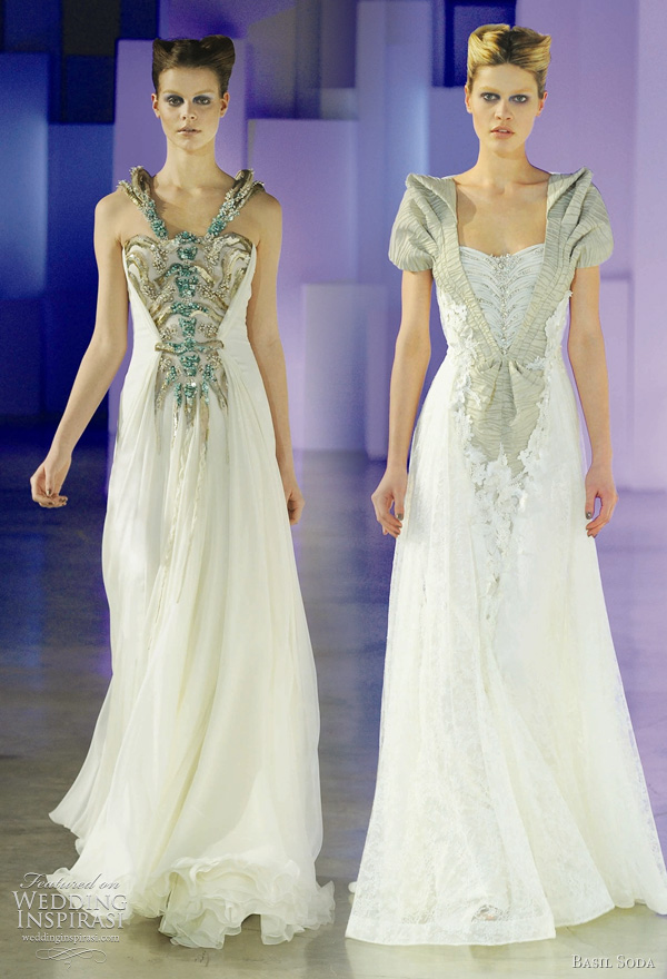 Basil Soda haute coutre spring/summer 2011 collection - wedding dress inspiration