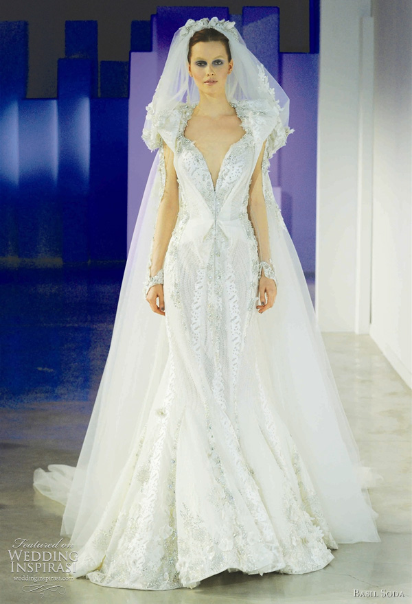 Basil Soda wedding dress 2011 from the Spring/Summer couture collection
