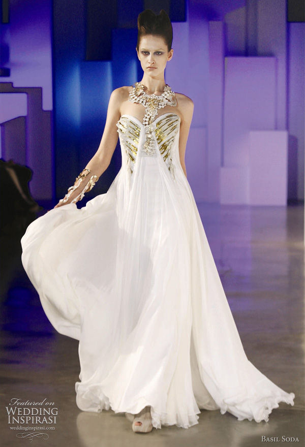 Basil soda wedding dresses 2011 couture collection