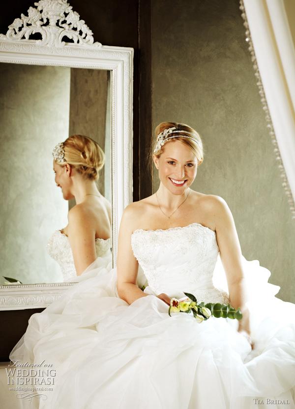 Tia Bridal 5201 wedding dresses by Benjamin roberts