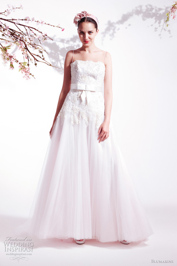 Blumarine Spring Summer 2011 bridal collection wedding dresses