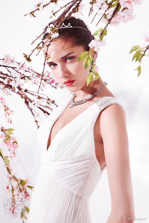 Blumarine Bridal 2011 collection wedding dress