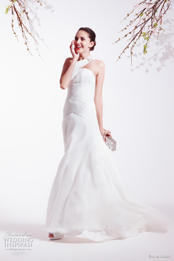 Blumarine wedding dress from the Spring Summer 2011 bridal collection