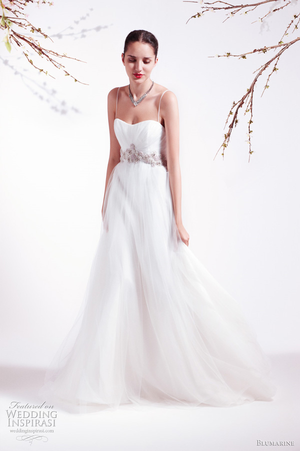 Blumarine Bridal Spring 2011 collection - strapless wedding dress