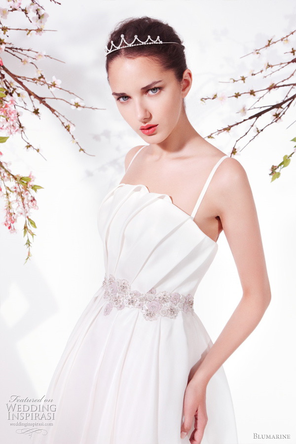 Blumarine Spring 2011 wedding dresses