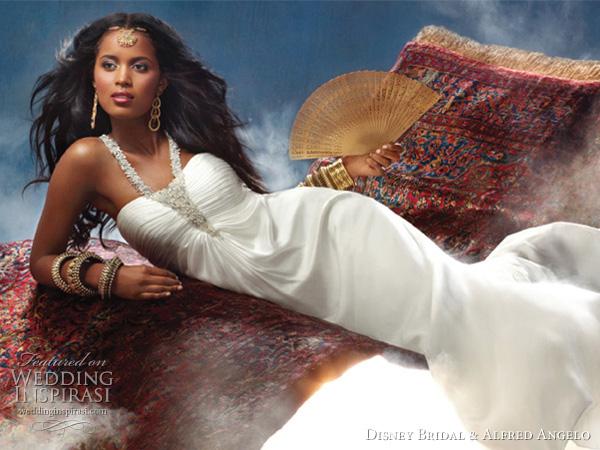 Disney Fairy Tale Weddings by Alfred Angelo for Disney - Princess Jasmine, of Aladdin wedding dress