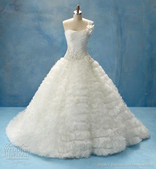 Disney Fairy Tale Weddings By Alfred Angelo Princess Wedding Etoile Creme Aurora Gown Bhldn
