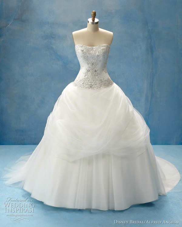 Disney Princess Belle wedding dress by Alfred Angelo