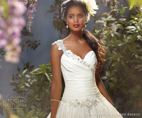 Disney Bridal Princess Tiana wedding dress by Alfred Angelo