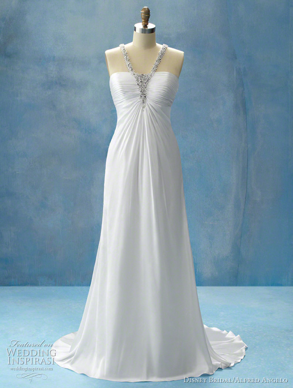 Disney Princess Jasmine wedding dress, Alfred Angelo