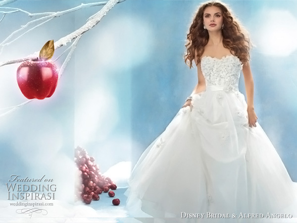 Disney Princess Snow White wedding dress, Alfred Angelo