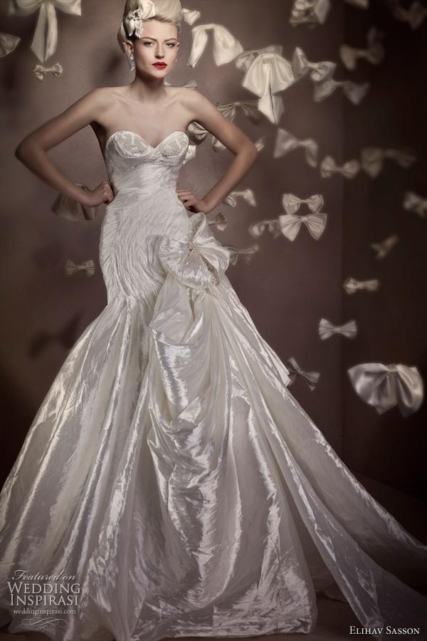 Elihav sasson 2011 bridal collection wedding inspirasi for Haute wedding