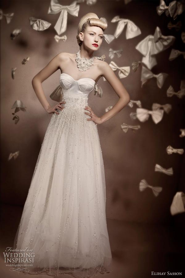 Elihav Sasson wedding dress 2011
