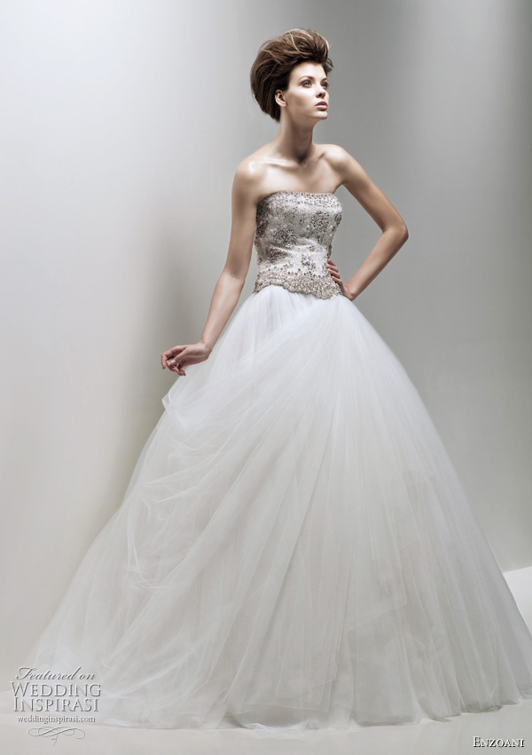 Enzoani Fleur wedding dress 2011 - bridal ball gown