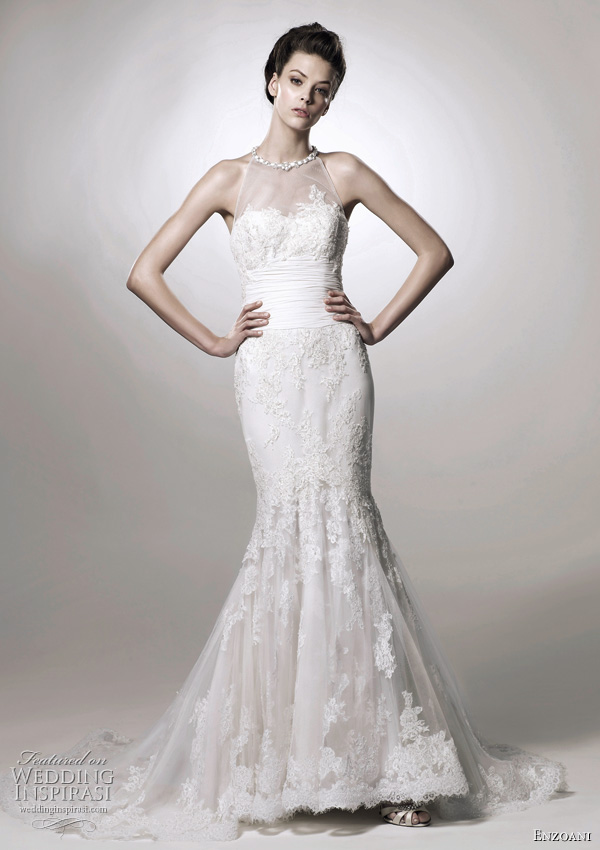 Enzoani Francesca wedding dress from 2011 bridal collection