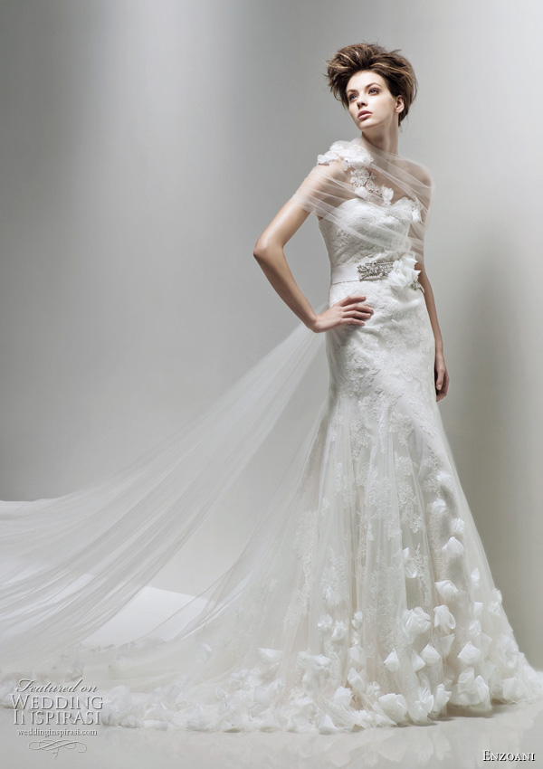 Enzoani wedding dress 2011 Fairy bridal gown