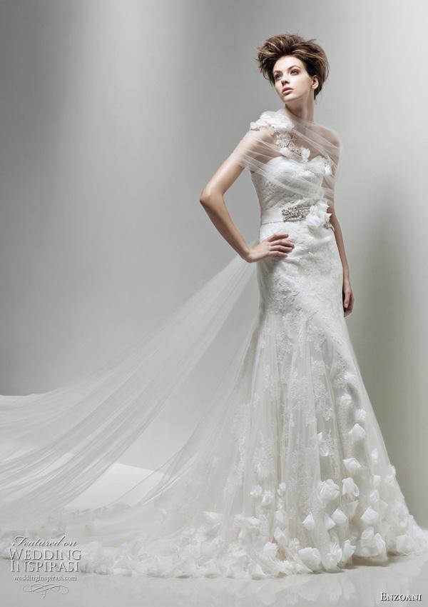 Enzoani wedding dress 2011 Fairy bridal gown