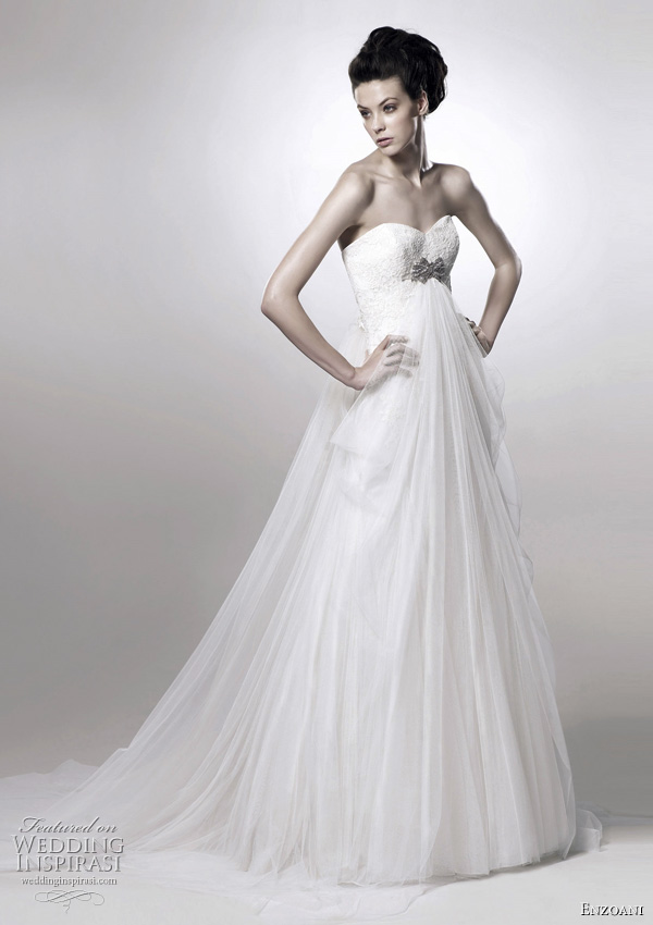 Enzoani wedding dresses 2011 - Flora draped gown
