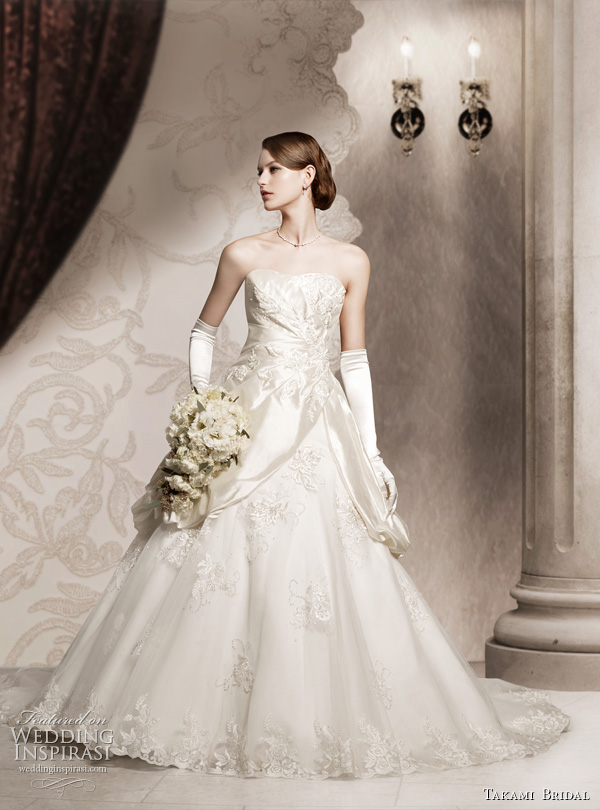 Wedding Dresses  France : Royal wedding dresses by takami bridal inspirasi